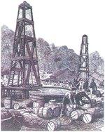 Добыча нефти на раннем этапе